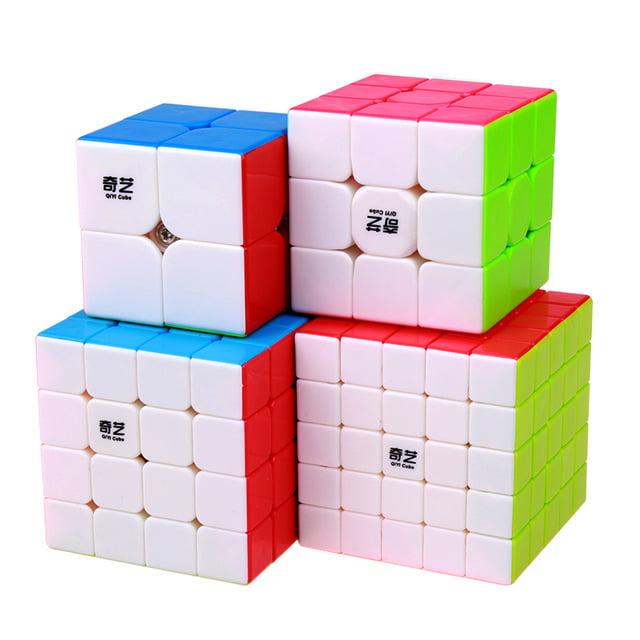 Kit Cubo QiYi 4 peças