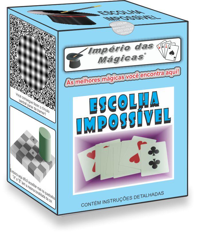 Mágica da Escolha Impossível