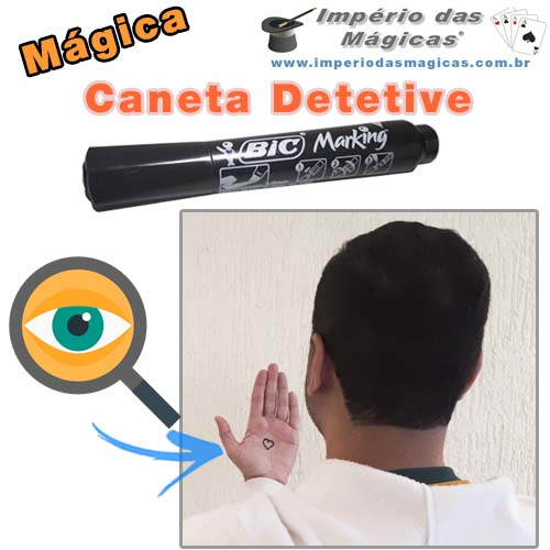 Caneta Detetive - Mágica