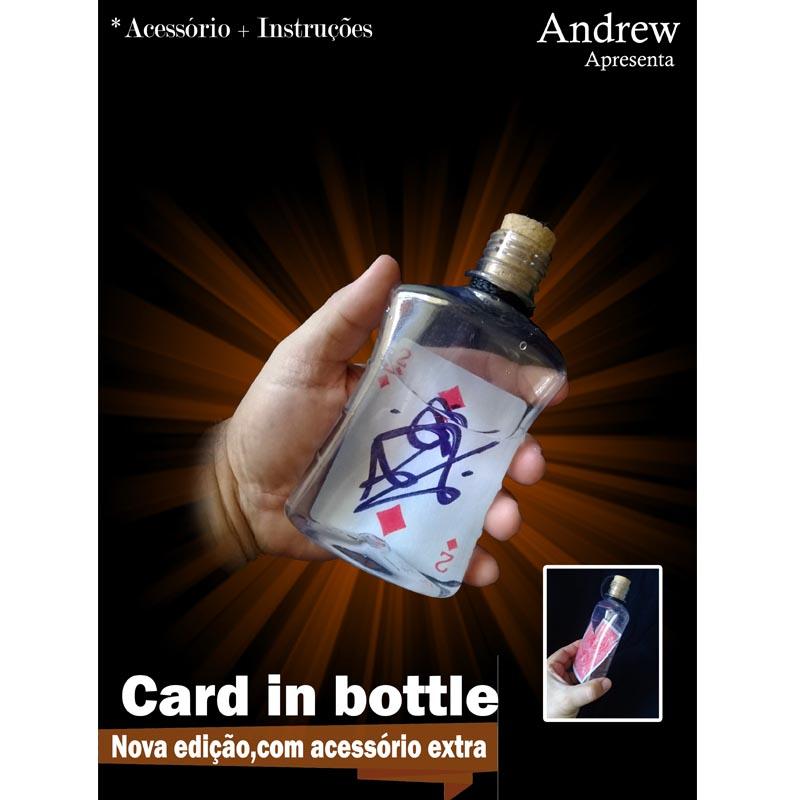 Mágica da Carta na Garrafa - Card in Bottle by Andrew