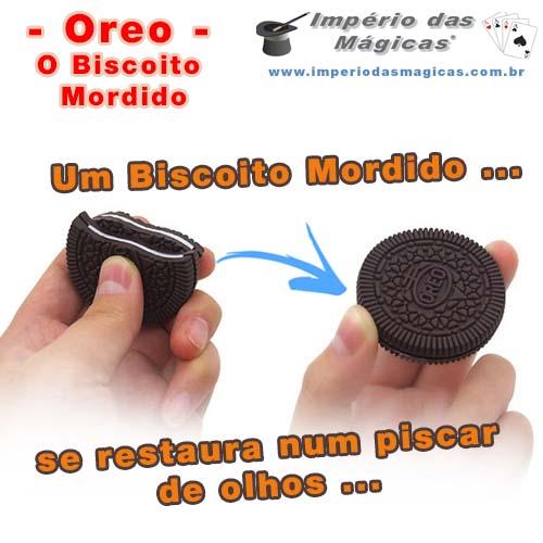 Oreo - Biscoito Mordido é Restaurado
