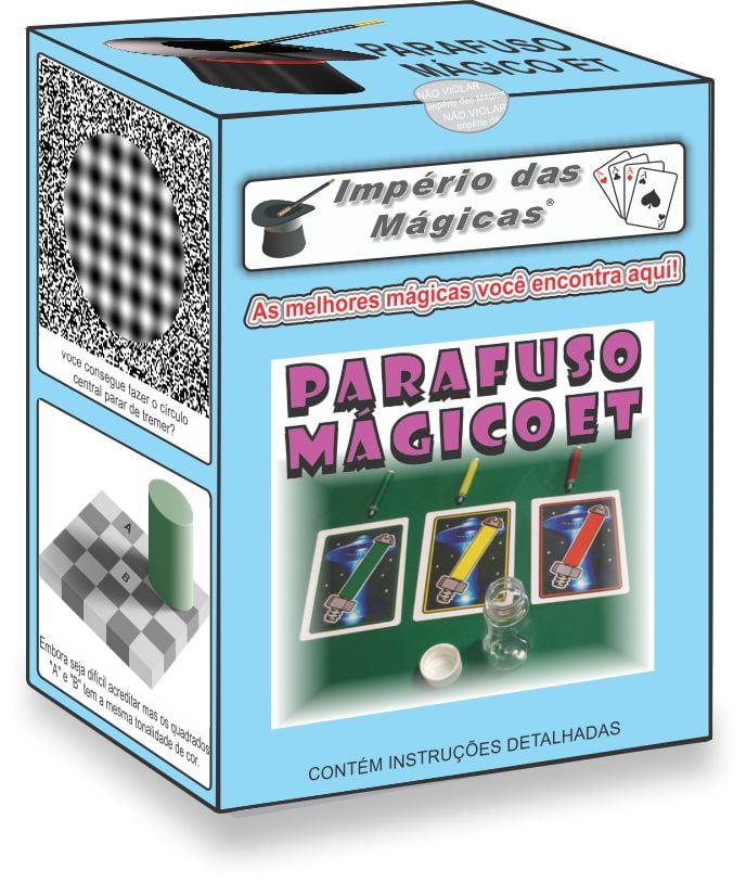 Parafuso Mágico ET - Caixinha