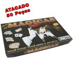 Mini Kit de Mágicas com 5 Mágicas. Lembrancinha de Aniversário, brindes, Com 5 ou 10 ou 50 peça