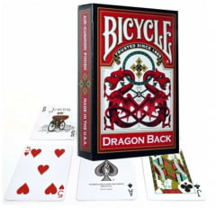 Baralho Bicycle Dragon Red
