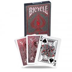 Baralho Bicycle MetalLuxe Vermelho Crimson - Grey