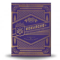 Baralho Bicycle Monarchs Purple - Premium Deck