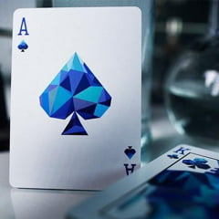 Baralho Memento Mori Blue - Premium Deck