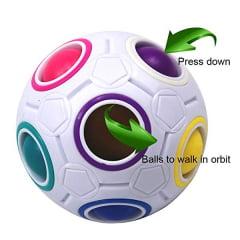 Cubo Mágico Bola Puzzle Rainbow Ball