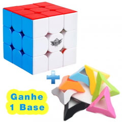 Cubo Mágico Cyclone Boys 3x3x3 - Com Base - Profissional
