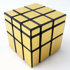 Cubo Mágico Mirror Blocks Shengshou Dourado