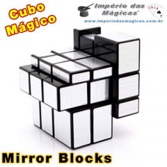 Cubo Mágico Mirror Blocks Shengshou Prata