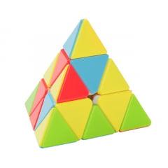 Cubo Mágico Pirâmide - Pyraminx Qiyi QiMing Stickerless
