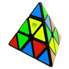 Cubo Mágico Pirâmide - Pyraminx Qiyi QiMingA Preto