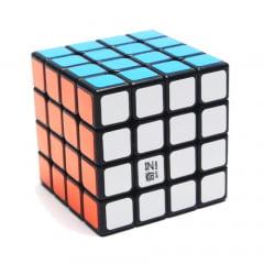 Cubo Mágico Profissional, 4x4x4 - QIYI QIYUAN-Preto