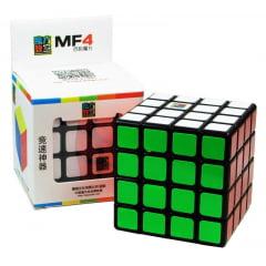Cubo Mágico Profissional Moyu MF4 4x4x4 Preto