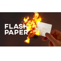 Flash Paper - Papel Pega Fogo