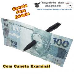 Caneta Fura Cédula Examinável - Modelo 2