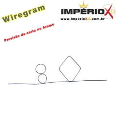 Mágica Wiregram - Previsão da carta no Arame