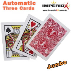 Mágica Automatic Three Cards
