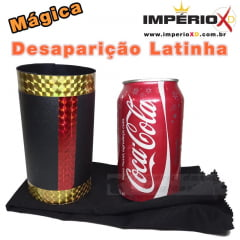 Desaparição da Lata de Coca - Vanishing Coke Can