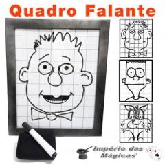 Quadro Falante Profissional - Desenho Falante Mágica