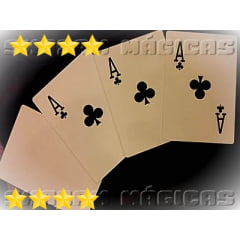 Mágica Rainbow Cards Monte Jumbo